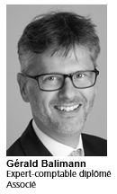 Gérald Balimann, Expert-comptable diplômé, Partenaire